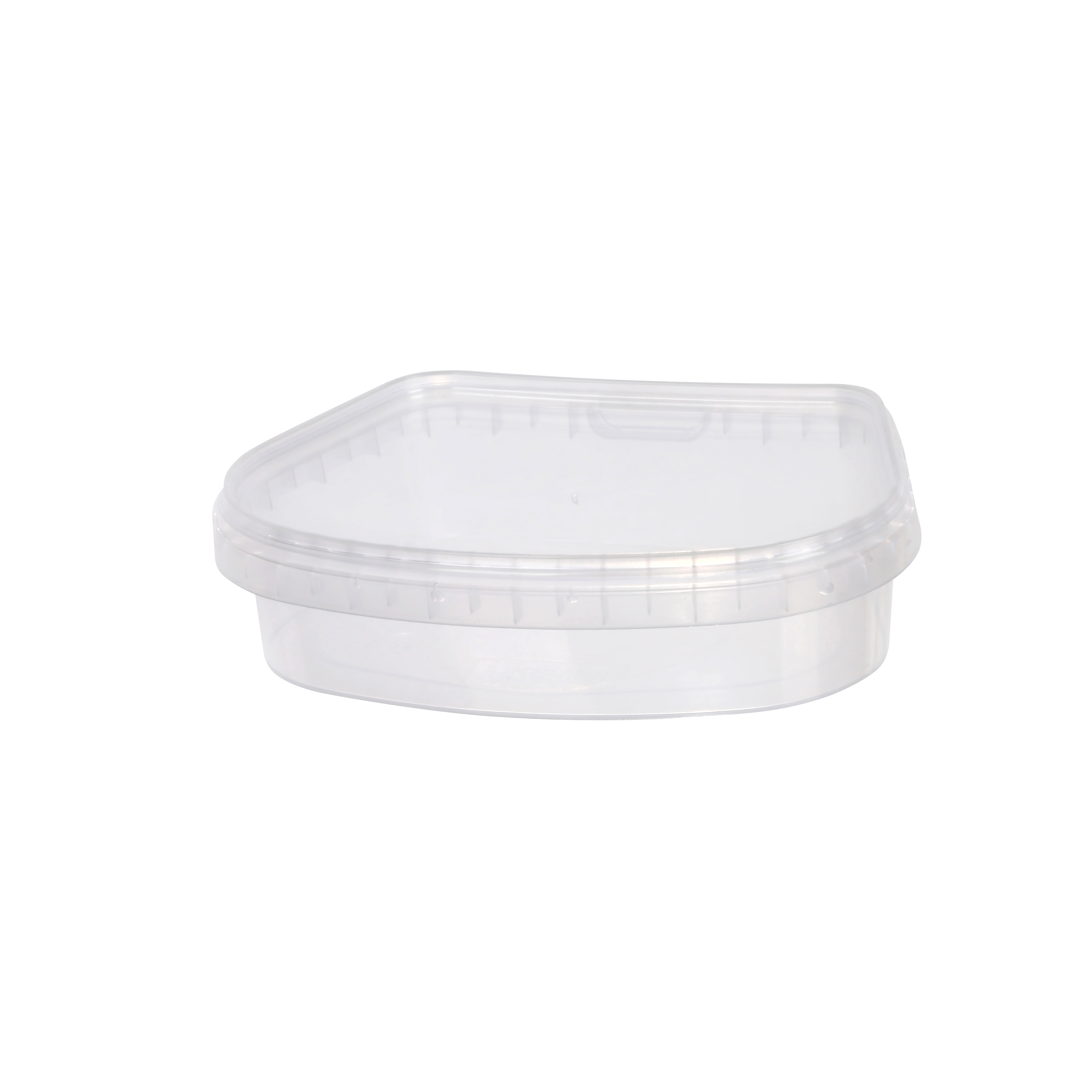 Leak proof  food container 330 ml for preserves, caviar, pickled fish.