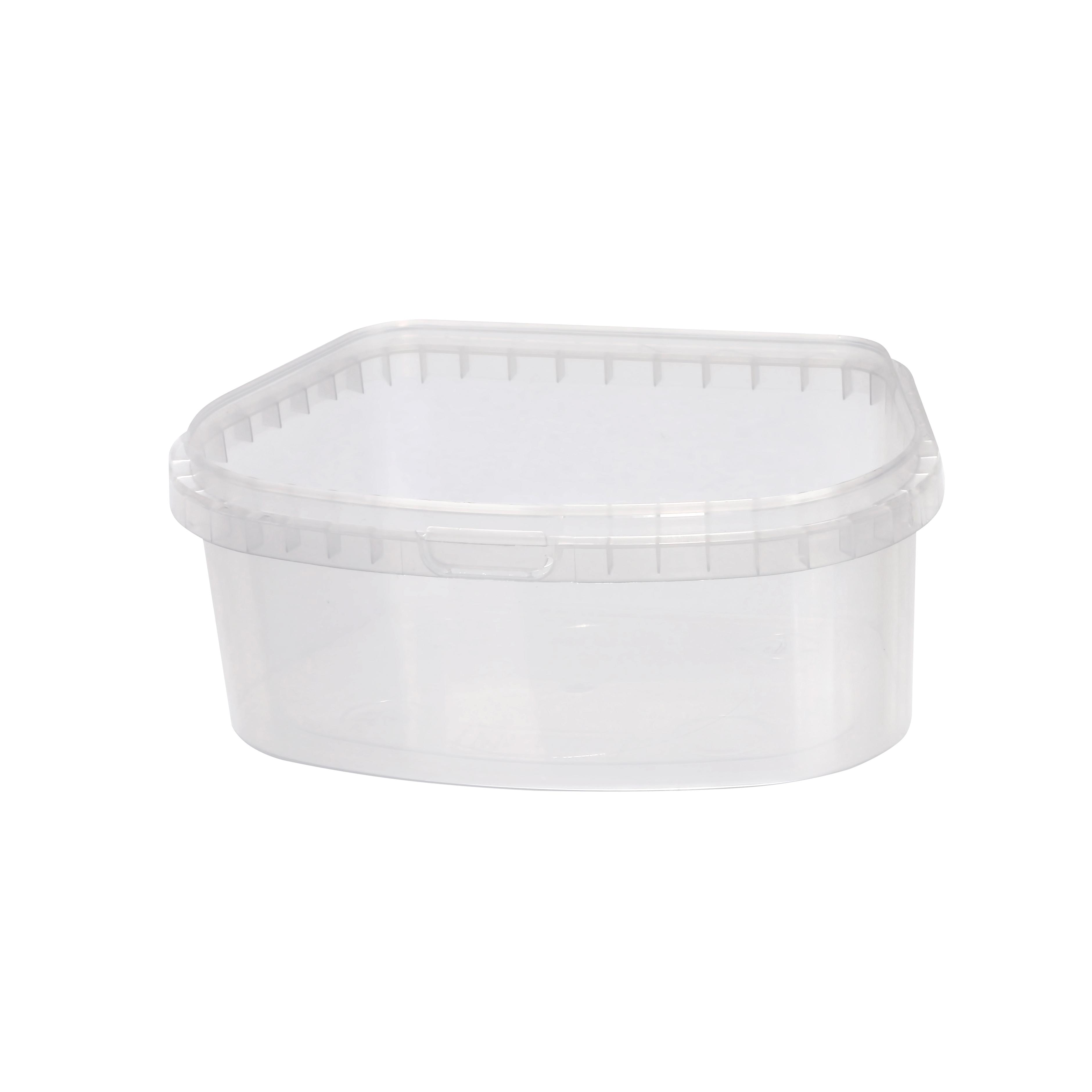 Пластикові  харчові контейнери з контролем відкриття на замовлення в Україні / києві.
