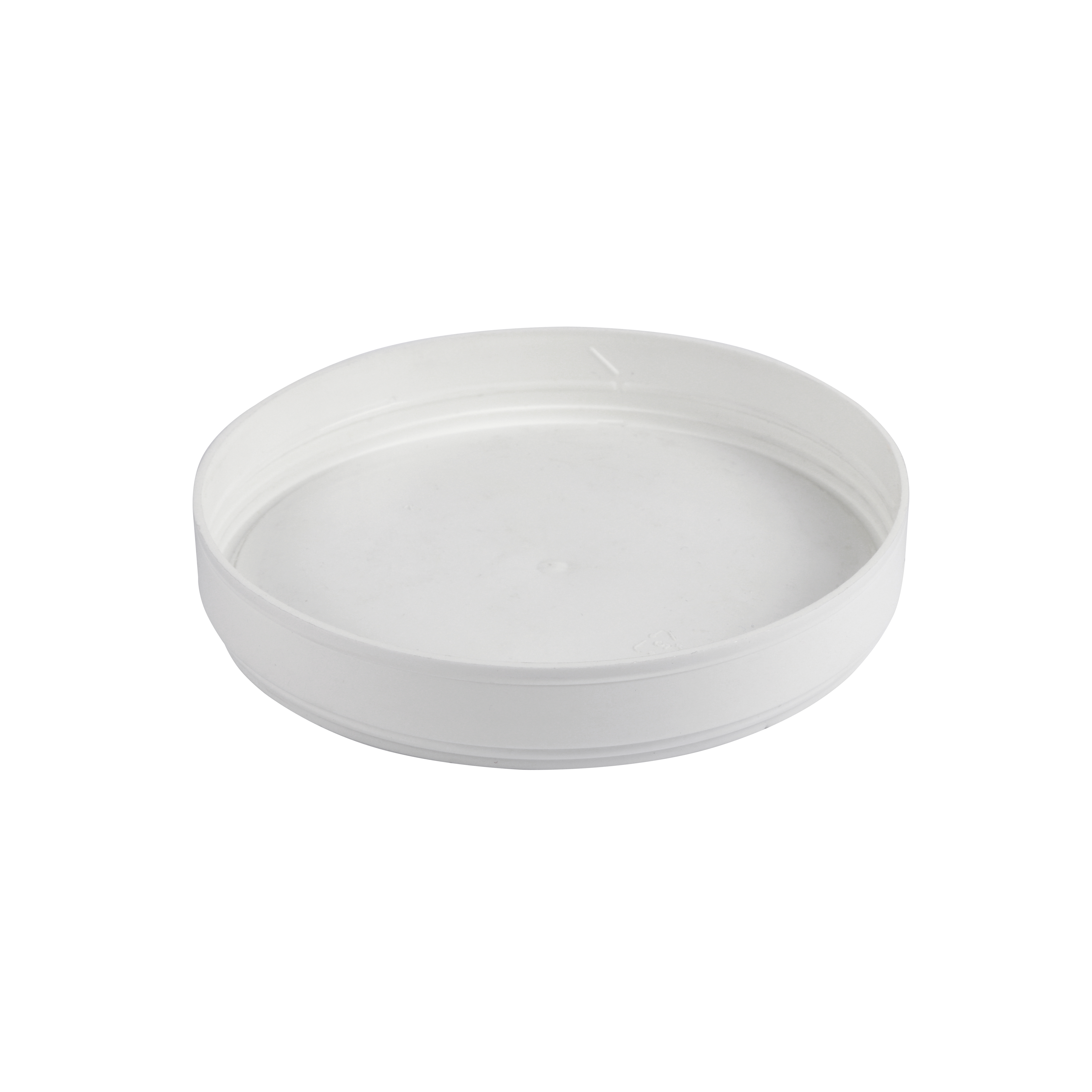 PP round lid 118 mm diameter for cardboard pots and cups